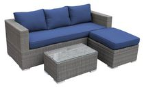 Henryka Sofa Set with Ottoman