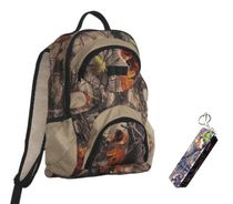Atlan Hunter's Camo Backpack with Mobile Charger