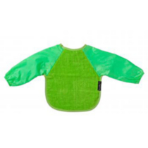 Mum 2 Mum Wonder Bib - Long Sleeved - Small Deep Mint