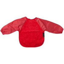 Mum 2 Mum Wonder Bib - Long Sleeved - Large Red