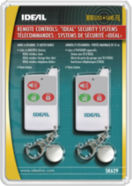 Ideal Security Inc. 2-Pack Ideal Security Remote Controls SK629