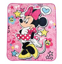 Minnie Mouse Silky Soft Throw