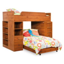 "South Shore Logik Twin Loft Bed (39"") Pine"