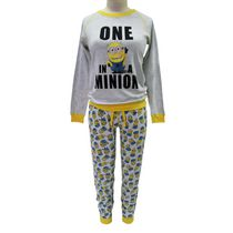 Despicable Me Ladies' License Reversable 2 piece Pyjama Set L
