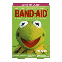 Band-Aid Brand Adhesive Bandages featuring the Muppets