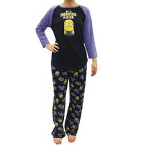 Despicable Me Ladies license 2 piece Charming Pyjama Set M