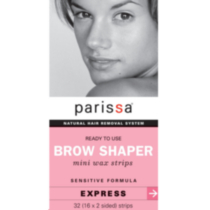 Parissa Mini Wax Strips Eyebrow Design Sensitive Formula