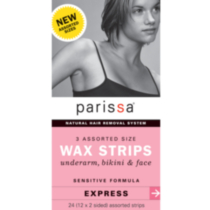 Parissa 3 Assorted Sizes Wax Strips