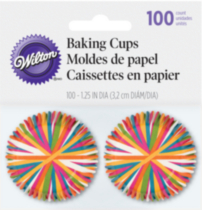 Mini Baking Cups Colour Wheel