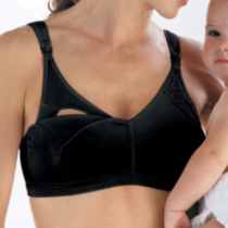 Playtex Expectant Moments Style 4427 - Nursing Bra Black C38