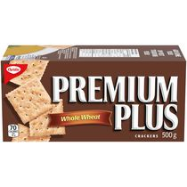 Premium Plus Whole Grain Crackers