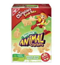 Snak Paks Barnum's Animal Crackers