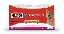 Milk-Bone Brushing Chews Mini Dental Dog Dry Treats