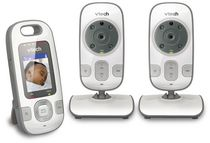 Vtech Safe & Sound Full Color Video and Audio Baby Monitor VM312-2