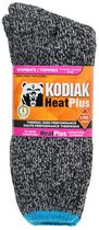 Kodiak Ladies' Heat Crew Socks Grey