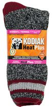 Kodiak Ladies' Heat Crew Socks Burgundy