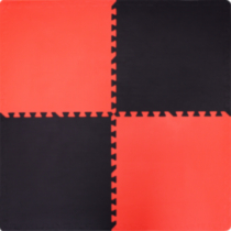 Red and Black Connect-A-Mat™ 4-Pack