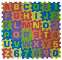 Play Day Alphabet and Numbers Playmat