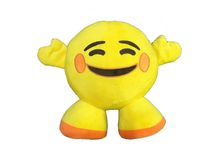 Emoji Blushing Standing Cushion