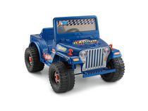 Jouet porteur Jeep alimenté par batterie de 6 volts Hot Wheels Power Wheels de Fisher-Price