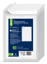 Casemate Poly Bubble Mailer #0, Pack of 6