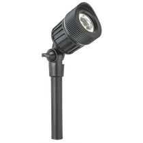 Paradise GL33007BK Low Voltage Cast Aluminium 7W LED Black Spot Light