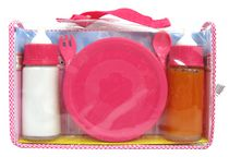 Kid Connection Magic Bottles with Feeding Set - Pink