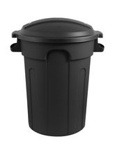 Gracious Living Garbage Container with domed lid