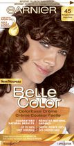 Garnier Belle Color ColorEase Crème Permament Haircolour 45 Mahogany Brown