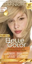 Coloration permanente Crème couleur facile pour cheveux Belle Color de Garnier 80 Medium Blonde