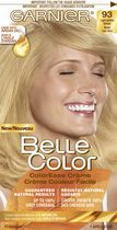 Coloration permanente Crème couleur facile pour cheveux Belle Color de Garnier 93 Light Golden Blonde