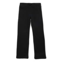 George OPP Girls' Fleece Pants - Black 7/8