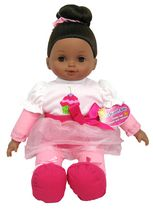 My Sweet Baby 16 Inches Toddler Doll - White blonde White
