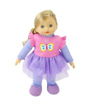 My Sweet Baby 16-inch Toddler Doll - Purple Outfit