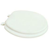 17 inch Soft Toilet Seat, White Color
