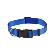 "1"" (25mm) Adjustable Dog Collar Blue"