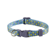 "2-sided ""LOL"" Print 3/8"" (9.5mm) Adjustable Dog Collar"