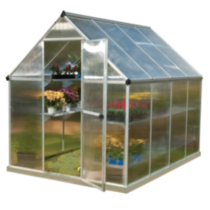 Palram Premier Mythos Series Twin Wall Greenhouse 6' x 8'