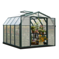 Rion Hobby 8 ft. 6 in. x 8 ft. 6 in. Greenhouse