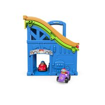 Mallette de course Wheelies Little People de Fisher-Price