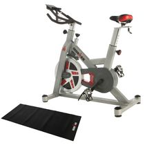 Ironman H-Class 520 Magnetic Tension Indoor Training Cycle with Bluetooth, Bonus My Cloud Fitness Chest Belt and added Bonus Equipment Mat
