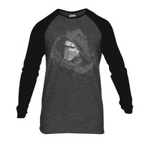 Star Wars Men's Long Sleeve Raglan T-Shirt L