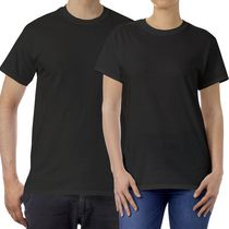 Gildan Mens T Shirt Black Medium