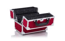 "Conair 9""  Red Cosmetic Beauty Case Organizer"