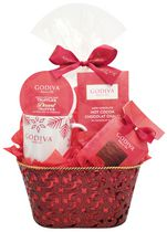 Celebration Godiva Sweet Dreams Gift Basket