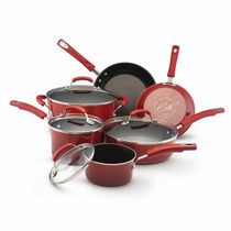Rachael Ray Non-stick Cookware Set Red