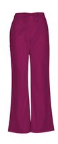 Scrubstar Drawstring Cargo Pant Wine 2XL