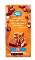 Great Value Chocolat au lait Noisettes