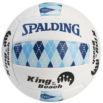 Spalding® Ballon de volleyball « King of the Beach » de la série Argyle