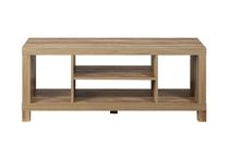 hometrends Rustic Hollow Core TV Stand
